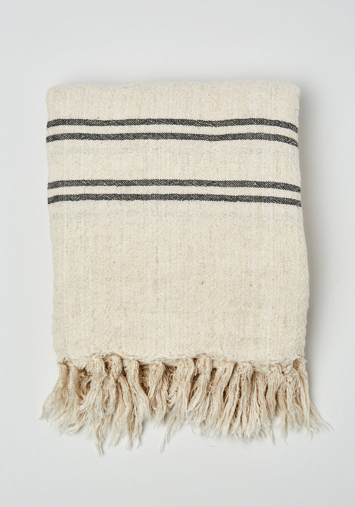 Linen Towel/Wrap 4 Stripe