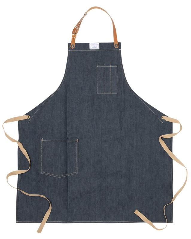 Culinary Apron w/ Removable Leather Straps