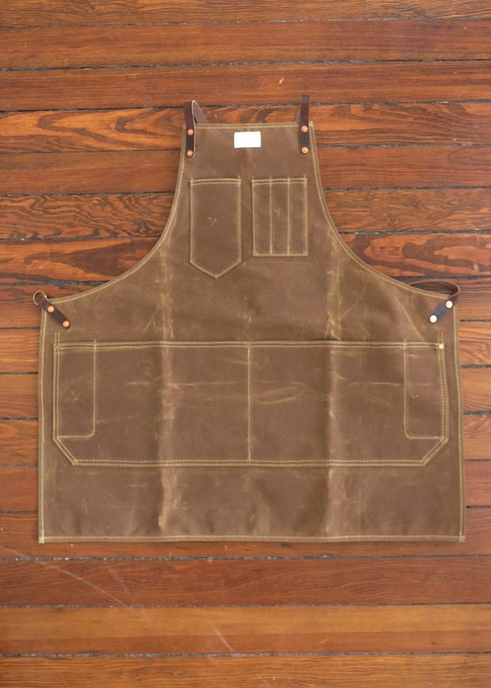 Artisan Apron w/ Leather Y-Strap
