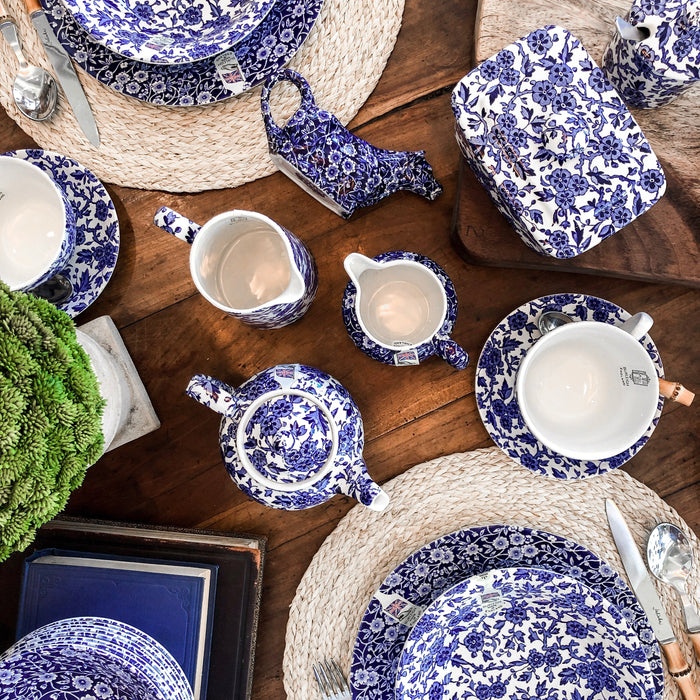 Blue Calico Burleigh Collection