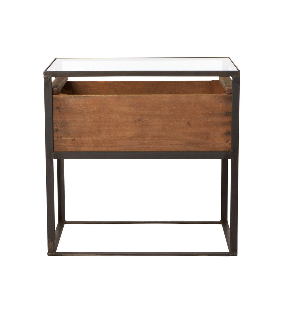 Grape Box Side Table