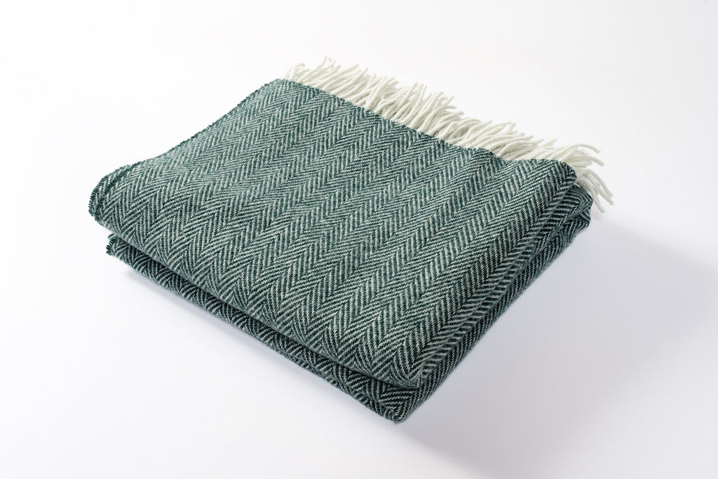 Moss Wool Throw