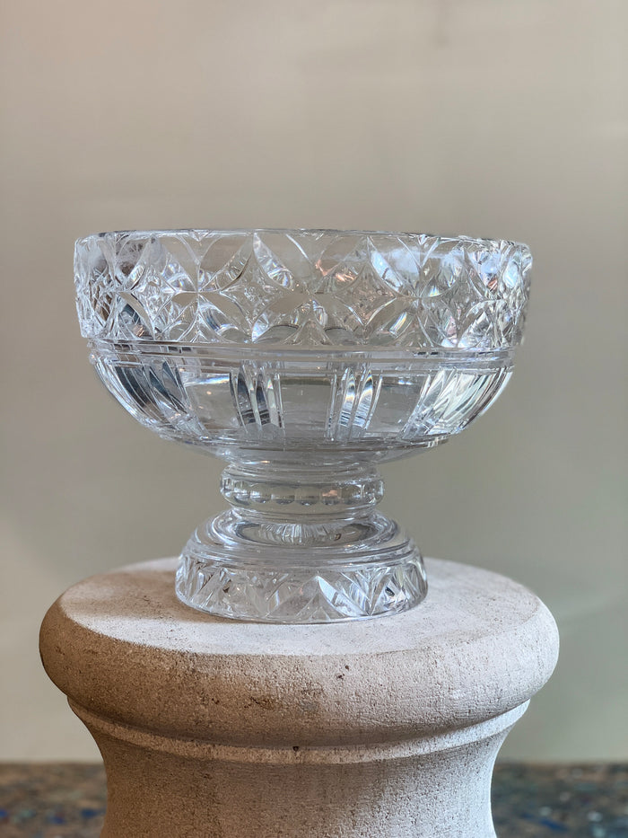 Stuart Crystal Footed Bowl