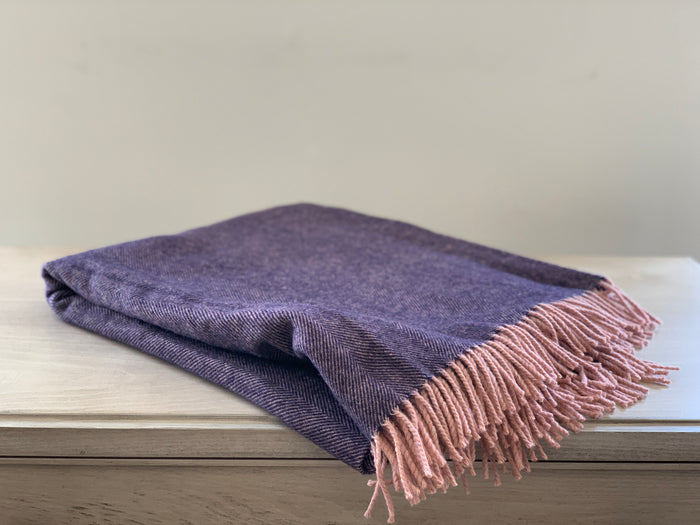 Merlot Wool Throw