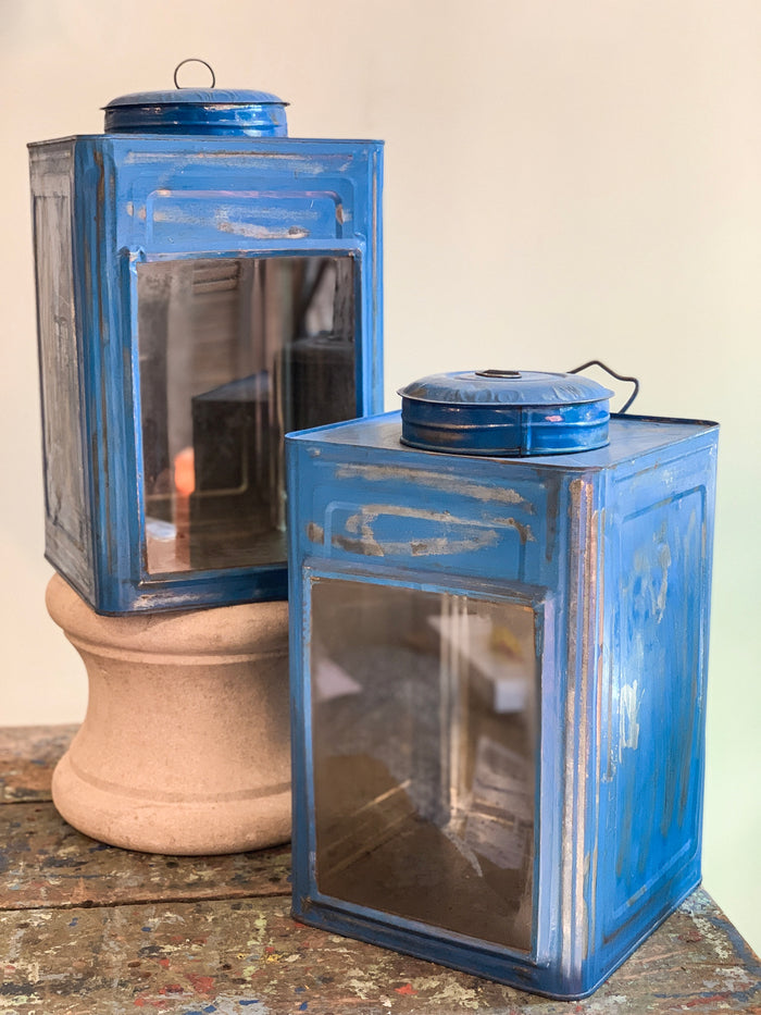 Glass and Metal Lanterns