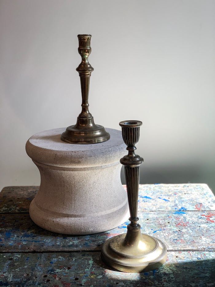 Antique Brass Candlestick