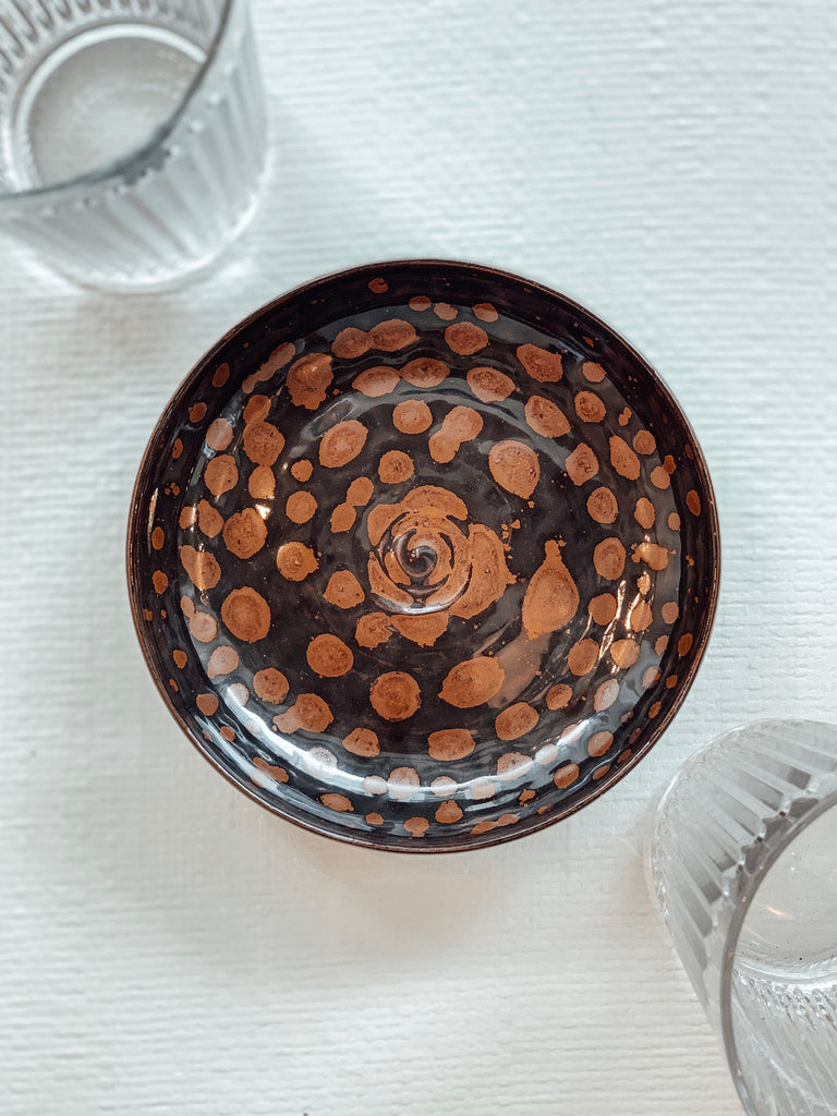 Tortoise Shell Monk Bowl
