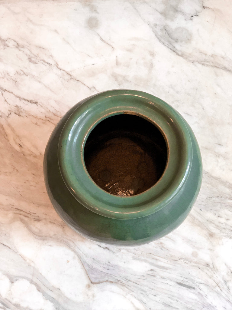 Antique Celadar Jar