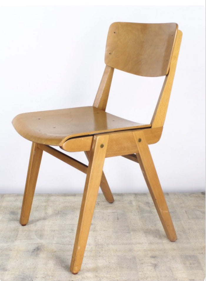 Vintage English School Chair