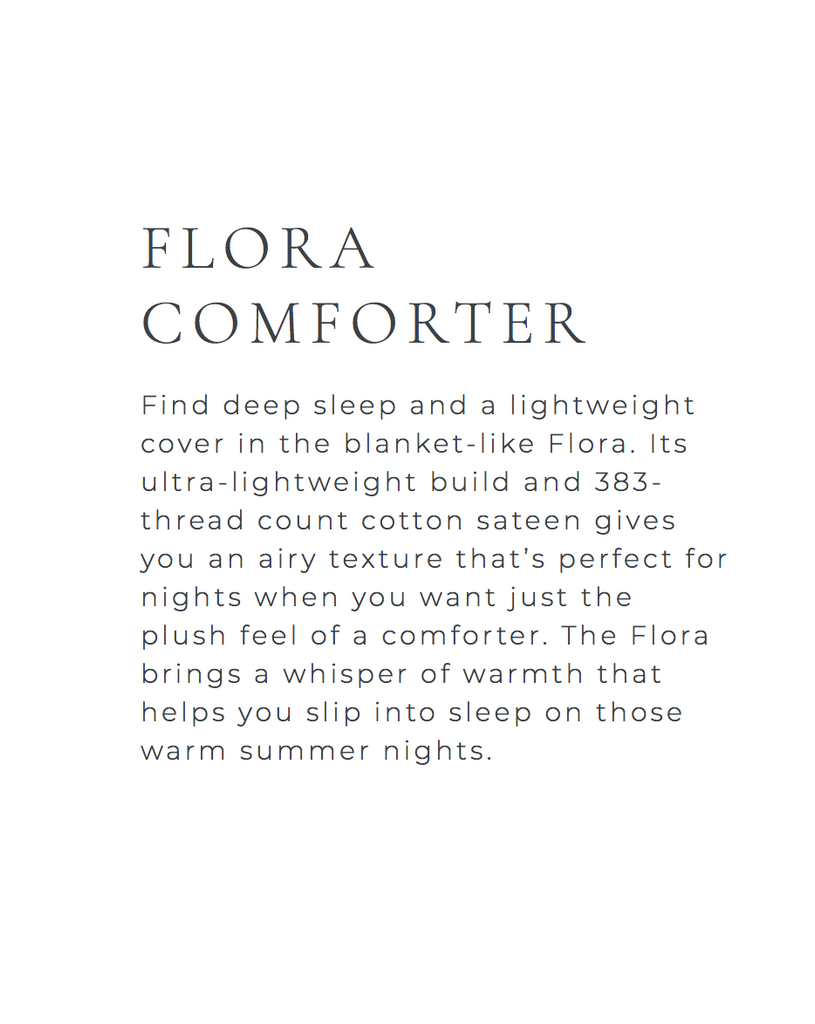 Flora Lightweight Queen Comforter