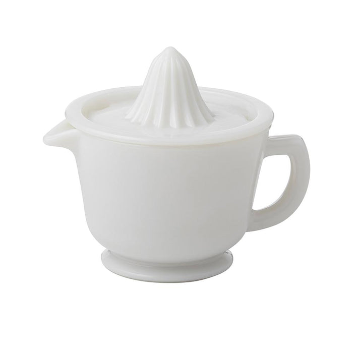 Milk Glass Juicer