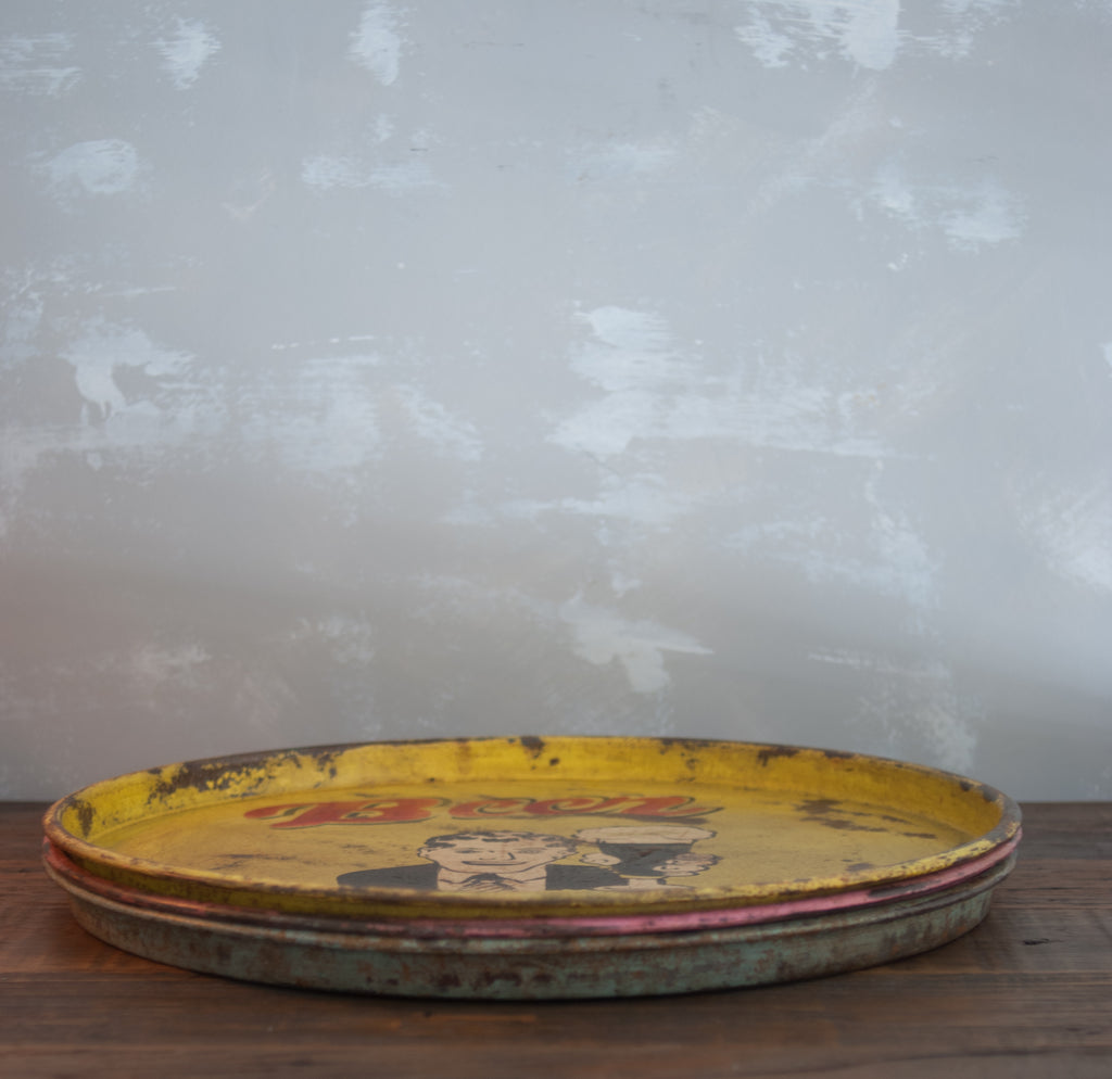 Vintage Painted Trays