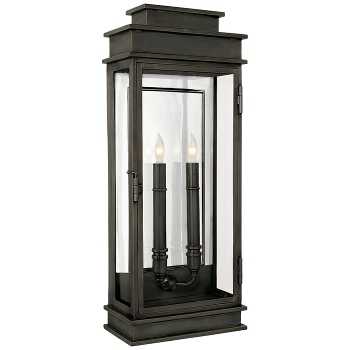 Tall Linear Wall Lantern