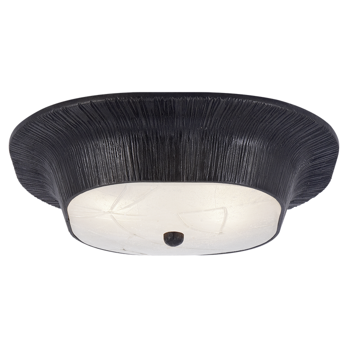 Utopia Flush Mount with Fractured Glass