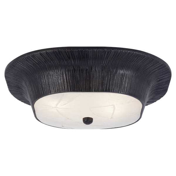 Utopia Round Sconce with Fractured Glass
