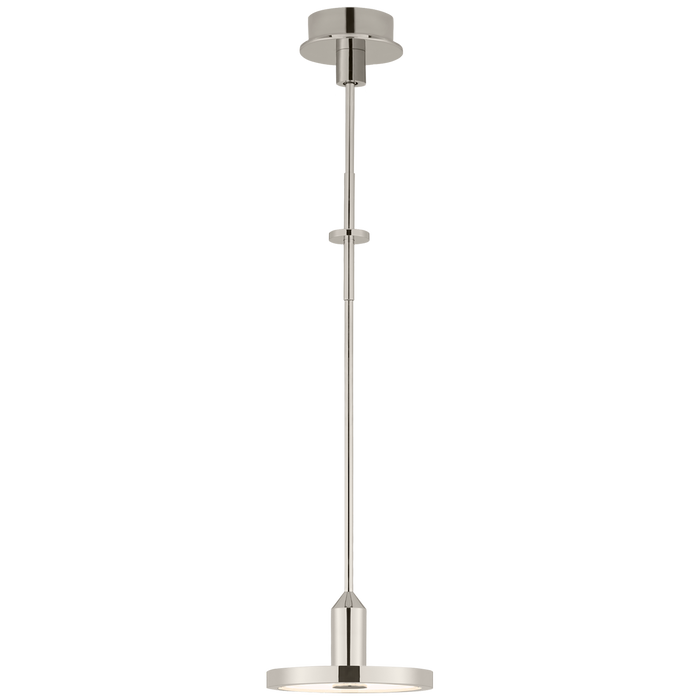 Valen (Small) Pendant in Polished Nickel