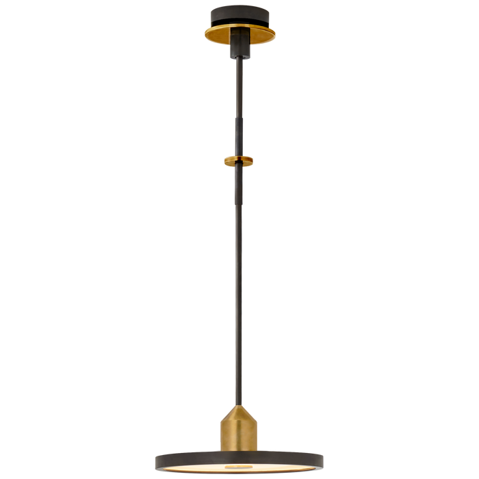 Valen Pendant in Bronze and Brass