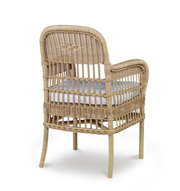 Mainland Wicker Dining Arm Chair