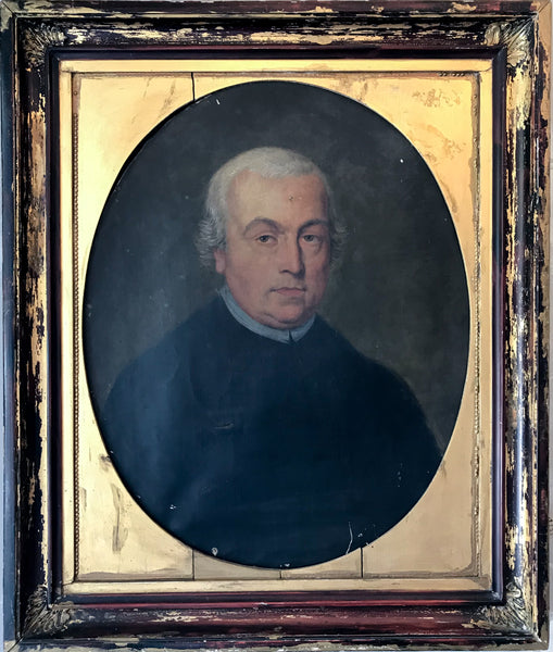 Antique Clergyman Portrait
