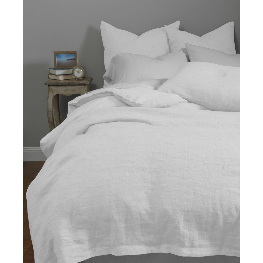 Damara White Duvet Cover