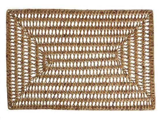 Rattan Rectangular Placemat