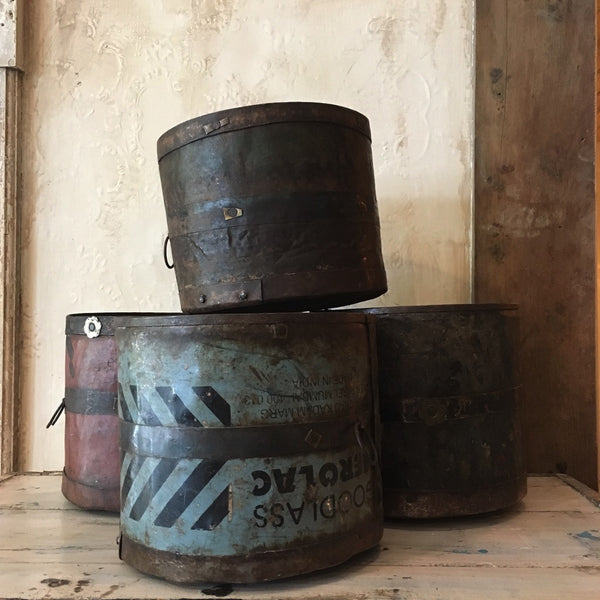 Vintage Industrial Pot