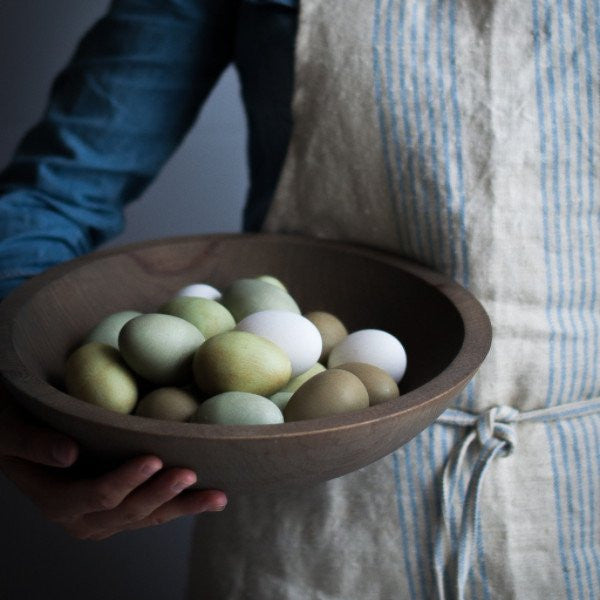 Crafted Wooden Bowls - Grey