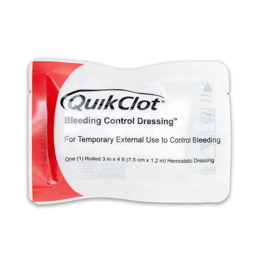 Quickclot Bleeding Control Dressing