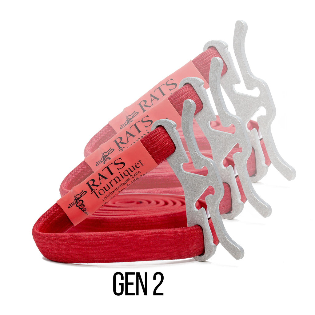 Bulk Pack RATS Gen 2 (Red)