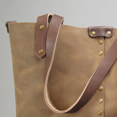 Large Leather Tote - Build Your Own Custom Bag