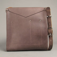 Leather Crossbody Messenger - Build Your Own Custom Bag
