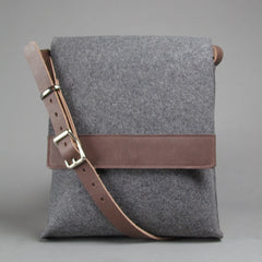 Wool Messenger - Build Your Own Custom Bag