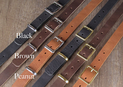 Custom Leather Bags Strap Options