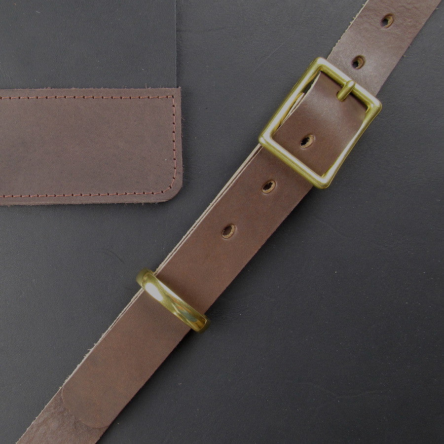 Custom Leather Crossbody Mesenger Coal