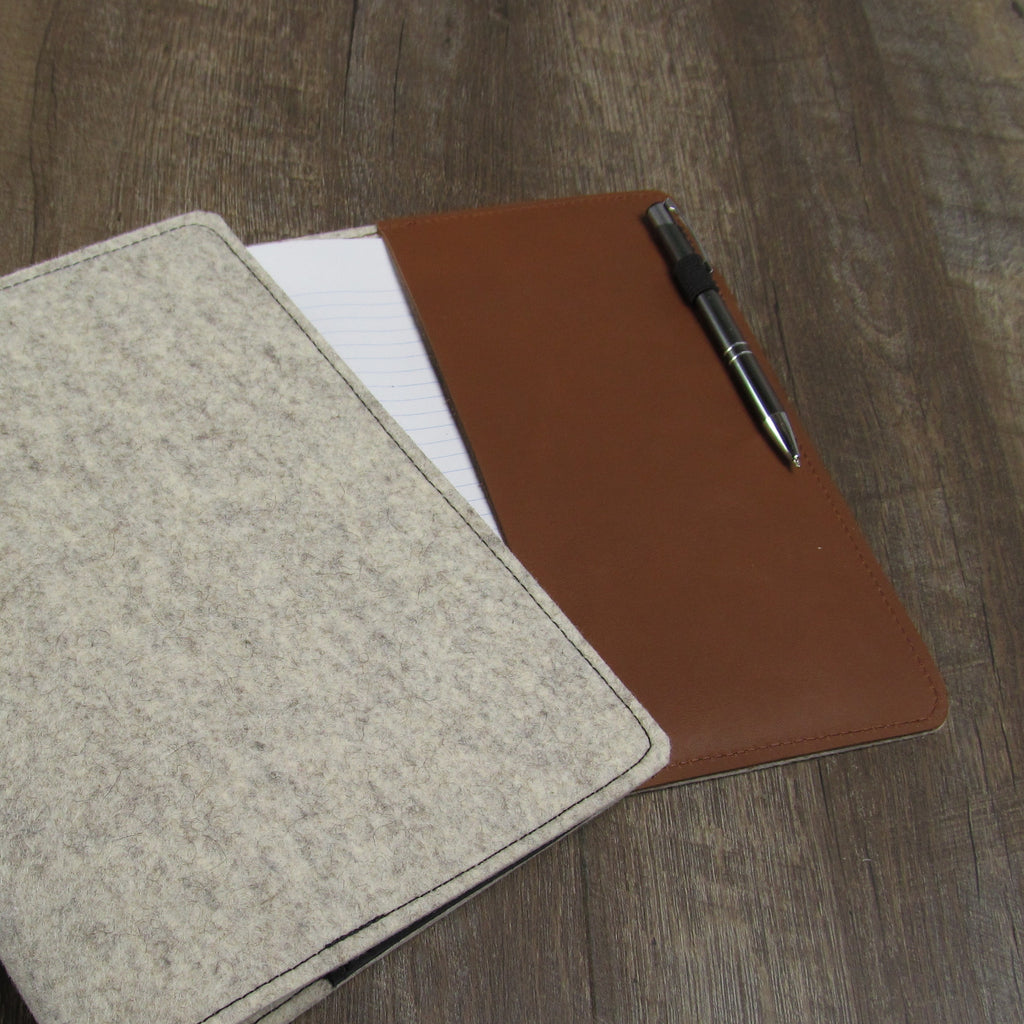 Refillable Wool Journal