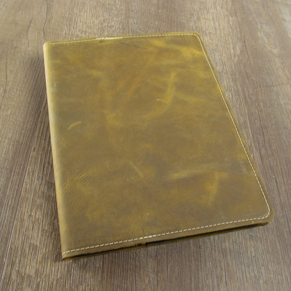 "Refillable Composition Size 7 1/2"" X 10"" Leather Journal"