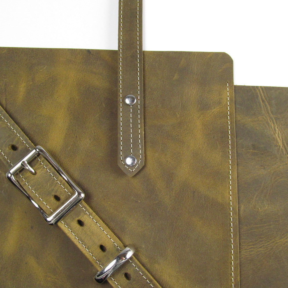 Zip Work Bag - Olive