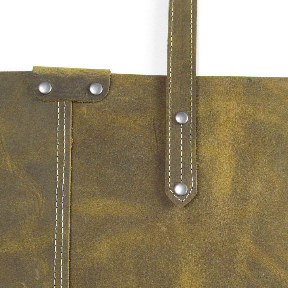 Basic Shoulder Bag - Olive