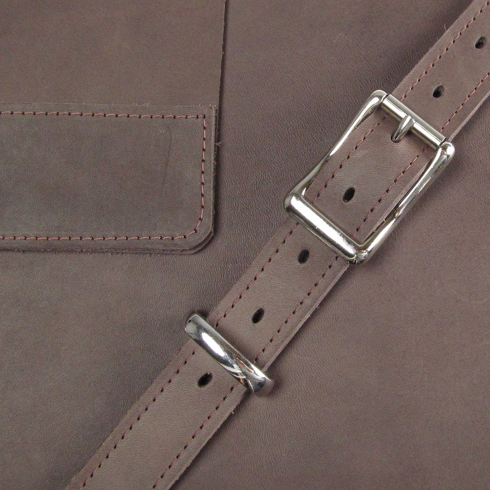 Leather Crossbody - Cocoa