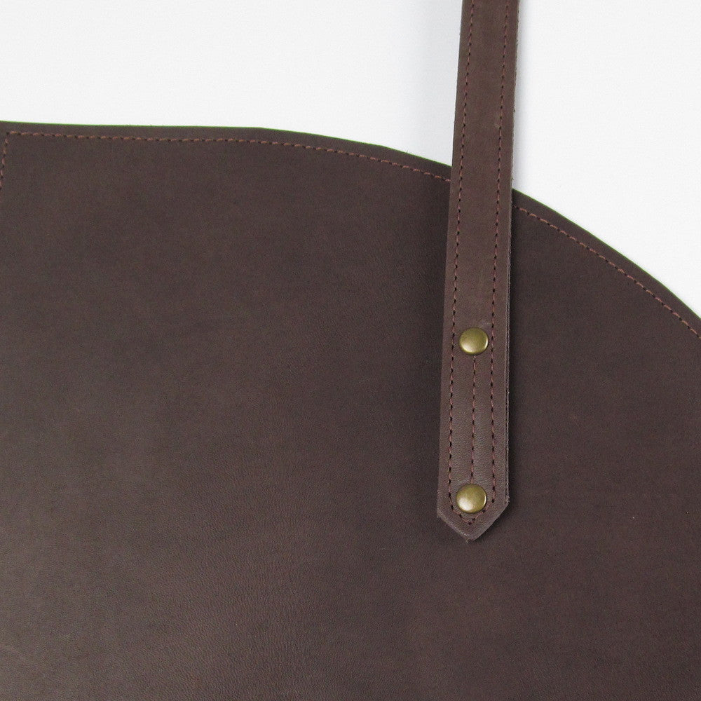 Roundhouse Zip Bag - Cocoa