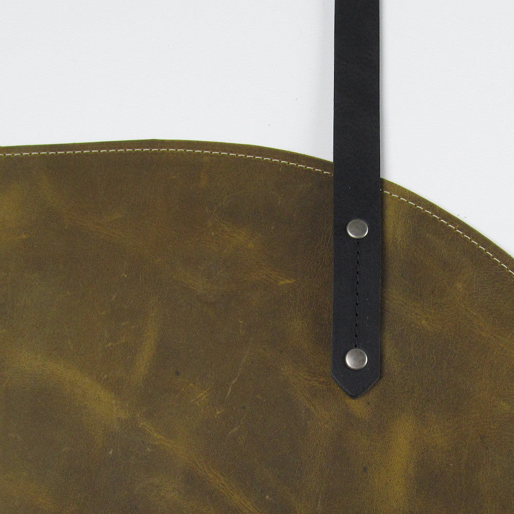 Roundhouse Zip Bag - Olive