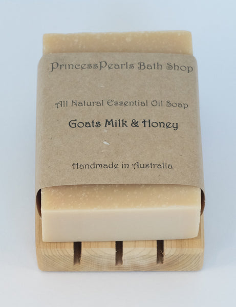 Goats Milk & Honey Soap (New)