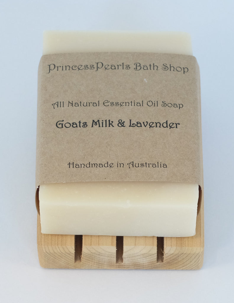 Goats Milk & Lavender Soap (New)