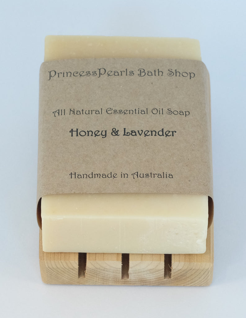 Honey Soap (Made with real honey) : Honey & Lavender