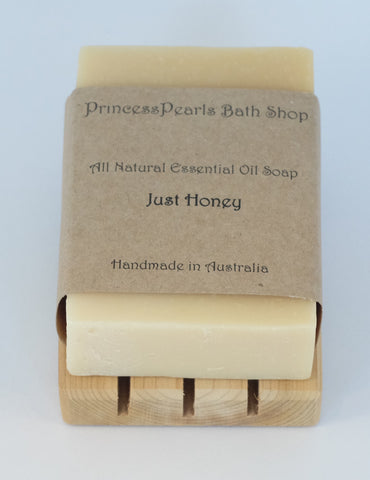 Honey Soap (Made with real honey) : Just Honey