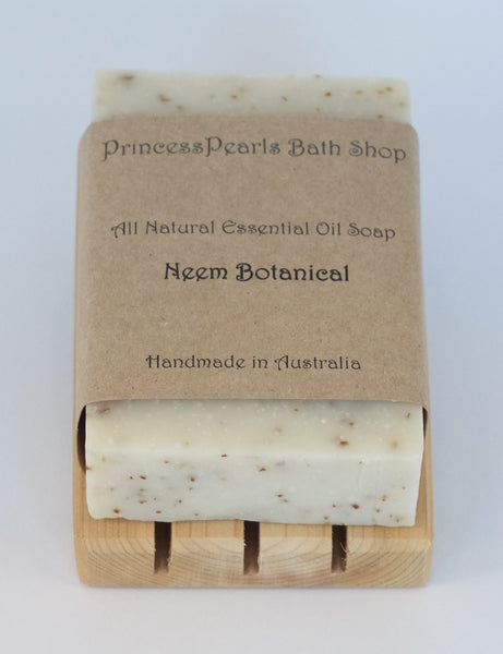Essential Oil Handmade Soap : Neem Botanical