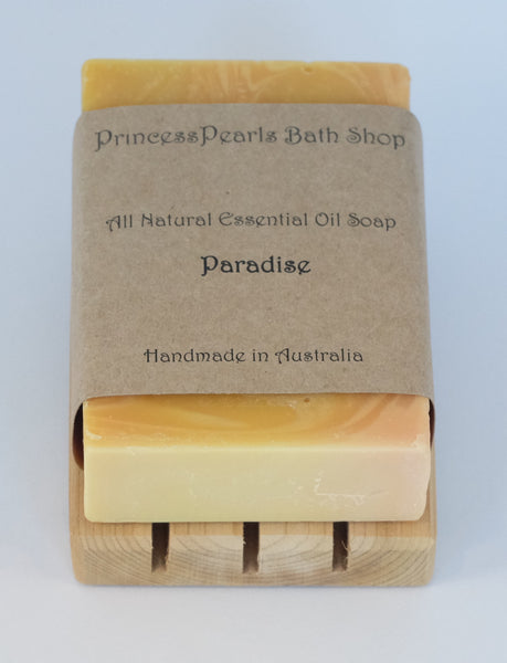 Essential Oil Handmade Soap : Paradise