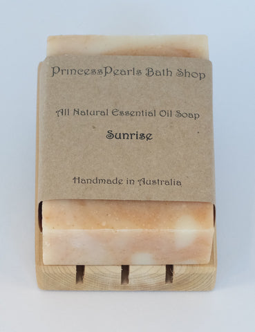 Essential Oil Handmade Soap : Sunrise