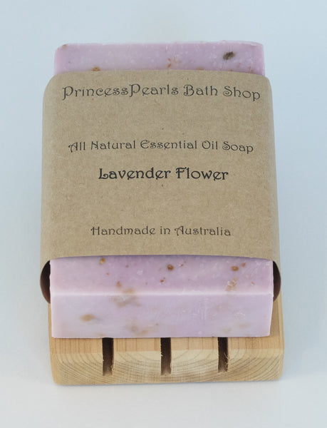 Essential Oil Handmade Soap : Lavender Flower