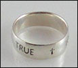 Men's True Love Waits Ring